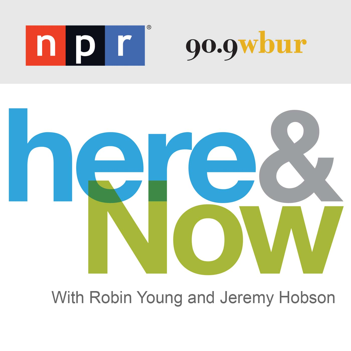 NPR - Here and Now logo